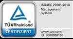 TÜV Logo ISO 9001:2015 Rheinland