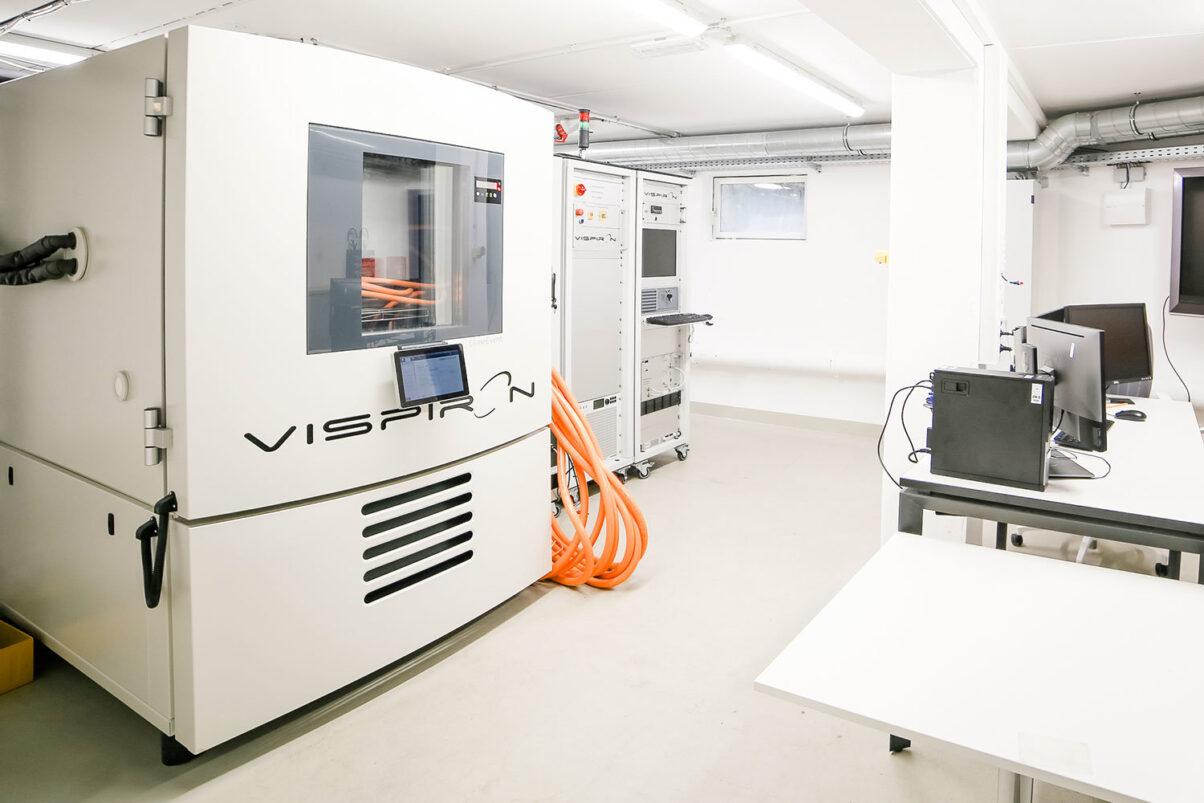 Hochvolt Labor der VISPIRON SYSTEMS