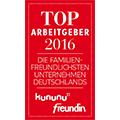 Logo Kununu Freundin. Top Arbeitgeber 2016