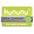Logo Kununu Open Company - wir leben offenheit!