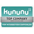 Logo Kununu Top Company - von Mitarbeitern empfohlen!