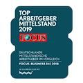 Top Arbeitgeber Mittelstand 2019 Focus Logo