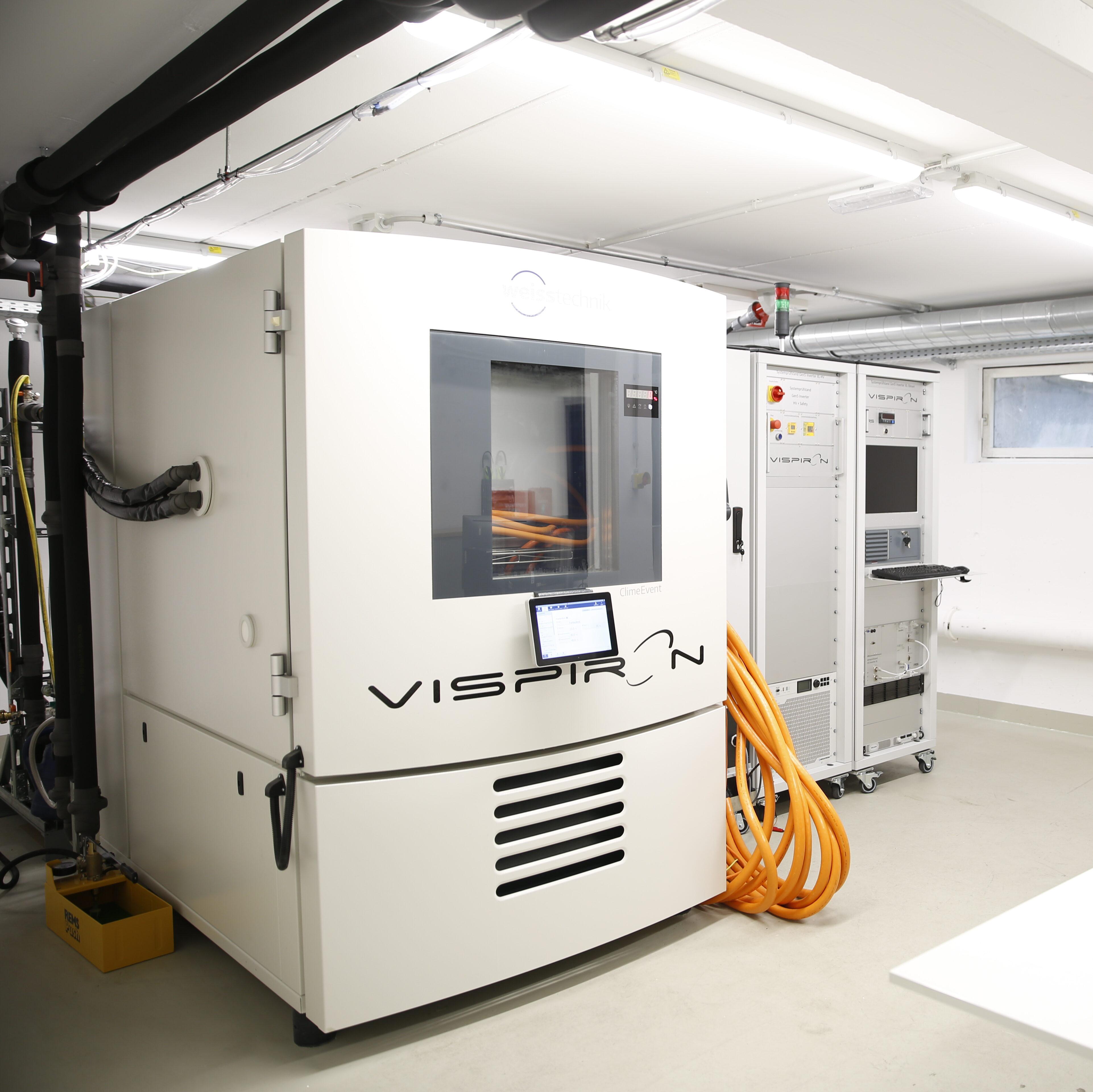 Errichtung eines Hochvolt-Batterielabor VISPIRON SYSTEMS